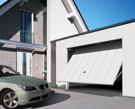 Подъемно-поворотные гаражные ворота Berry Hormann