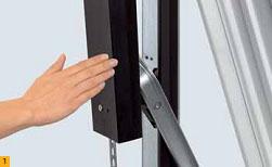 Оптимальная защита гаражных подъемно-поворотных ворот Berry Hormann